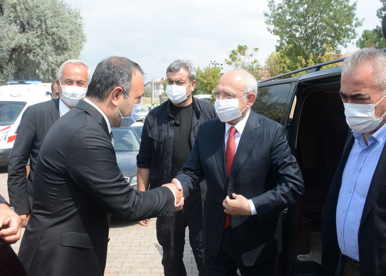 Başkan İbaş, CHP Genel Başkanımız Sayın Kemal Kılıçdaroğlu'na Bölgemizde Gerçekleştirdiği Ziyaretlerde Eşlik Etti.