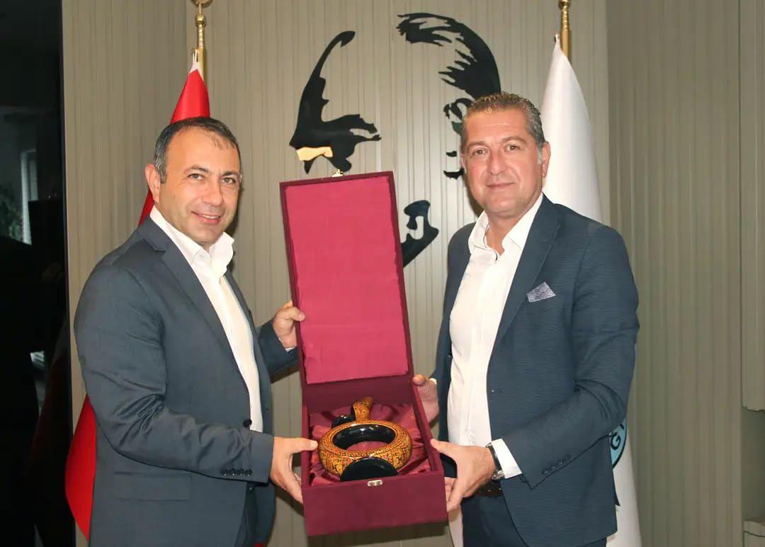 Çanakkale Bozcaada Belediye Başkanı Hakan Can Yılmaz Belediyemizi Ziyaret Etti.