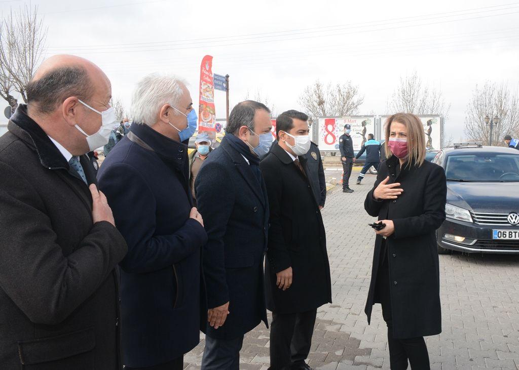 Nevşehir Valisi İnci Sezer Becel'in Avanos Ziyareti.