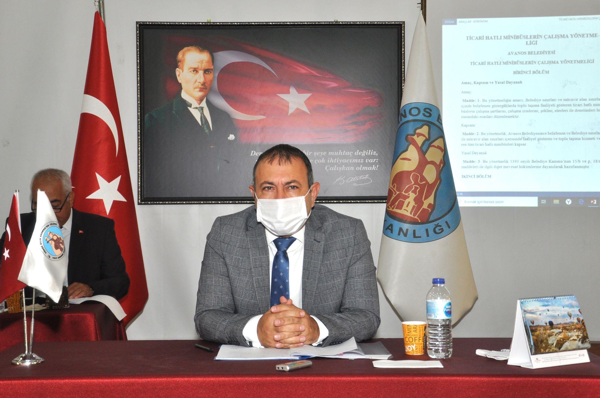 EYLÜL AYI BELEDİYE MECLİS TOPLANTISI YAPILDI