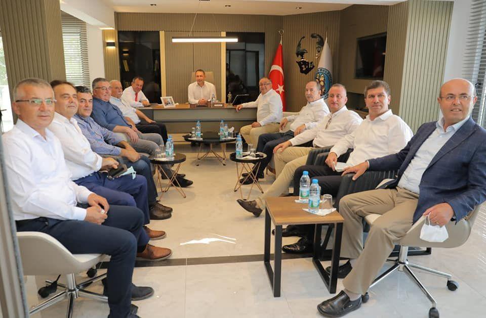 CHP İl Belediye Başkanları Belediyemizi Ziyaret Etti.