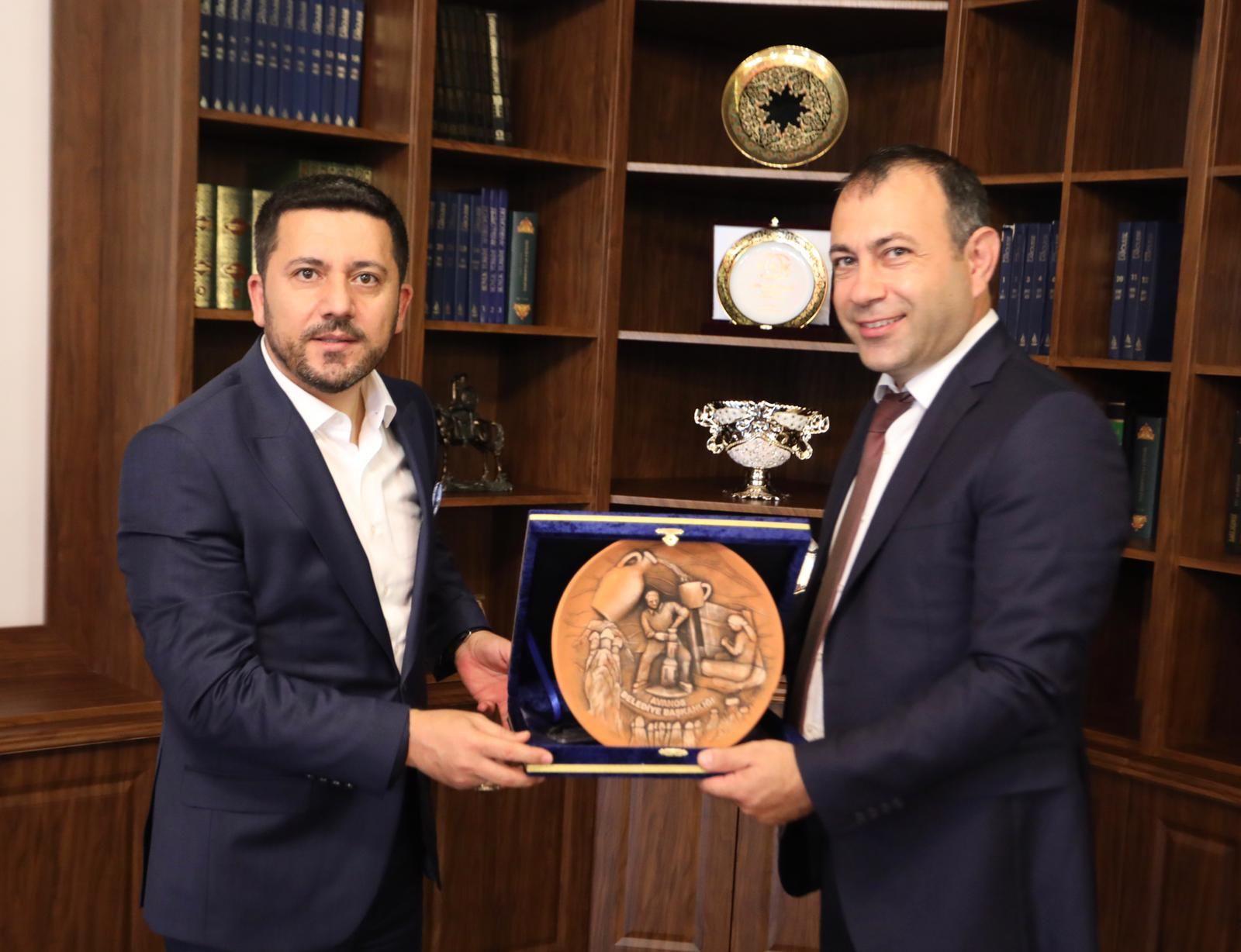 Nevşehir Belediye Başkanı Sayın Rasim Arı'ya Ziyaret.