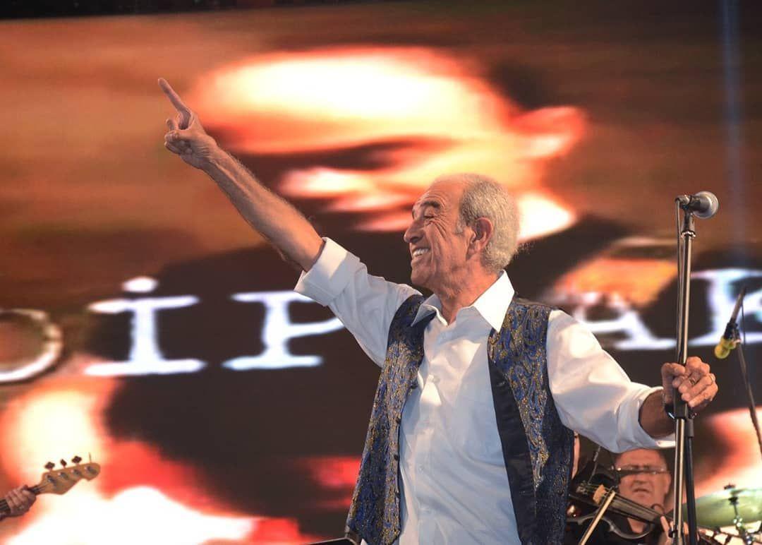 Usta Sanatçı Edip Akbayram Şarkılarıyla Avanosluları Coşturdu